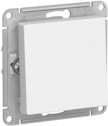 Выключатель одноклавишный AtlasDesign (белый) ATN000111