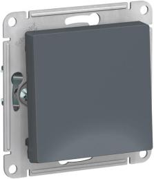 Выключатель одноклавишный AtlasDesign (грифель) ATN000711
