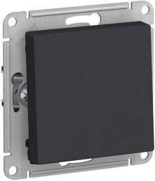 Выключатель одноклавишный AtlasDesign (карбон) ATN001011