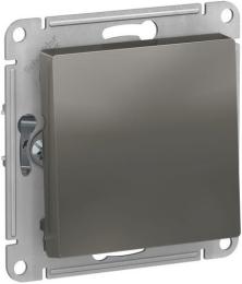 Выключатель одноклавишный AtlasDesign (сталь) ATN000911