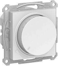 Светорегулятор поворотно-нажимной 20-315 Вт AtlasDesign (белый) ATN000134