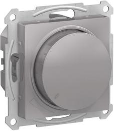 Светорегулятор поворотно-нажимной 20-630 Вт AtlasDesign (алюминий) ATN000336