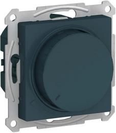 Светорегулятор поворотно-нажимной 20-630 Вт AtlasDesign (изумруд) ATN000836