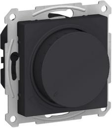 Светорегулятор поворотно-нажимной 20-630 Вт AtlasDesign (карбон) ATN001036