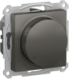 Светорегулятор поворотно-нажимной 20-630 Вт AtlasDesign (сталь) ATN000936