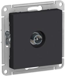 Розетка телевизионная AtlasDesign простая (карбон) ATN001093