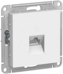 Розетка компьютерная RJ45 AtlasDesign кат. 5e (белый) ATN000183