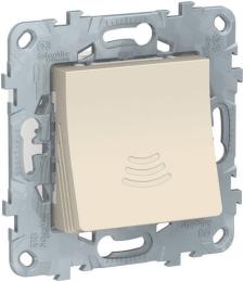 Звонок электронный Unica New 70 дБ/ 1 м (бежевый) NU578644