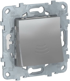 Звонок электронный Unica New 70 дБ/ 1 м (алюминий) NU578630