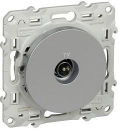 Розетка TV Odace (алюминий) S53R445