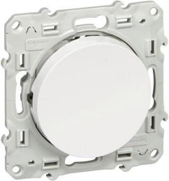 Перекрестный одноклавишный переключатель Odace (белый) S52R205