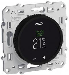 Терморегулятор для теплого пола с сенсорным дисплеем Odace S52R509