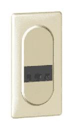 Розетка для электробритвы Celiane (слоновая кость) 067159+066224+080252