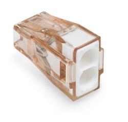 Клемма WAGO 2х4мм² для распределительных коробок с пастой 773-602