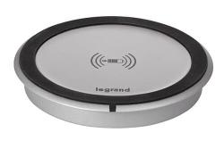 Беспроводное зарядное устройство для смартфонов встраиваемое в мебель 1А Legrand 077580