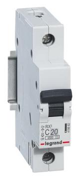 Автоматический выключатель RX3 1-полюсный 20А 419665