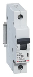 Автоматический выключатель RX3 1-полюсный 16А 419664