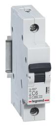 Автоматический выключатель RX3 1-полюсный 06А 419661