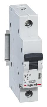 Автоматический выключатель RX3 1-полюсный 25А 419666