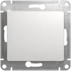 Выключатель одноклавишный Glossa (белый) GSL000111