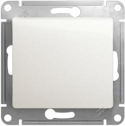 Выключатель одноклавишный Glossa (перламутр) GSL000611