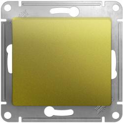 Выключатель одноклавишный Glossa (фисташоковый) GSL001011