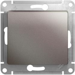 Выключатель одноклавишный Glossa (платина) GSL001211