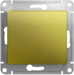 Проходной одноклавишный переключатель Glossa (фисташоковый) GSL001061