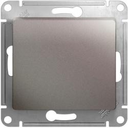 Проходной одноклавишный переключатель Glossa (платина) GSL001261