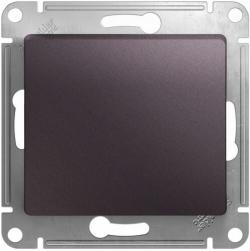 Проходной одноклавишный переключатель Glossa (сиреневый туман) GSL001461