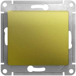 Перекрестный одноклавишный переключатель Glossa (фисташоковый) GSL001071