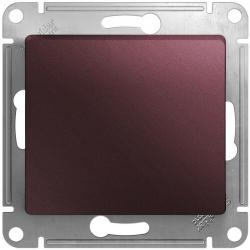 Перекрестный одноклавишный переключатель Glossa (баклажановый) GSL001171
