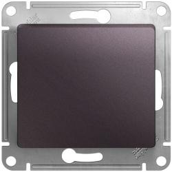 Перекрестный одноклавишный переключатель Glossa (сиреневый туман) GSL001471