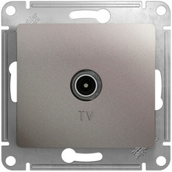 TV Розетка Glossa звезда (платина) GSL001293