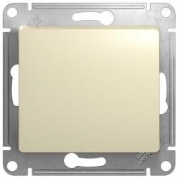 Кнопочный выключатель Glossa (бежевый) GSL000215