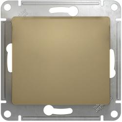 Кнопочный выключатель Glossa (титан) GSL000415