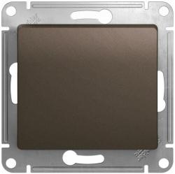 Кнопочный выключатель Glossa (шоколад) GSL000815