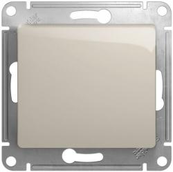 Кнопочный выключатель Glossa (молочный) GSL000915