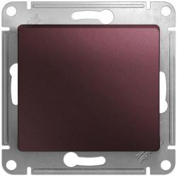 Кнопочный выключатель Glossa (баклажановый) GSL001115