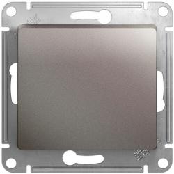 Кнопочный выключатель Glossa (платина) GSL001215
