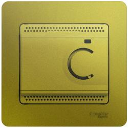 Термостат Glossa электронный 10А (фисташковый) GSL001038