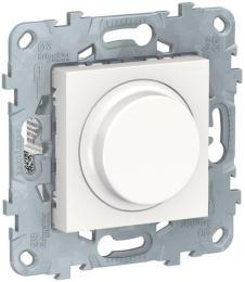 Светорегулятор поворотно-нажимной 5-200 Вт Unica New (белый) NU551418