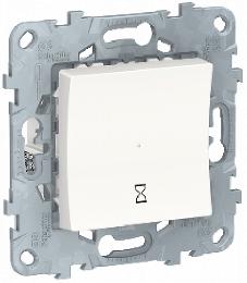 Таймер нажимной Unica New (белый) NU553518