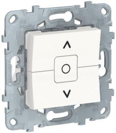 Выключатель для рольставней Unica New (белый) NU520818