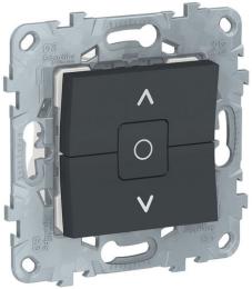 Управление жалюзи Unica New Wiser (антрацит) NU550854