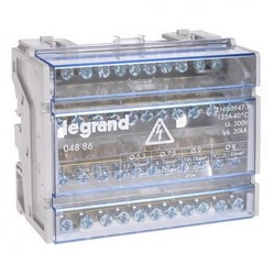 Кросс модуль Legrand (4Pх11) 44 контакта 125А 004886