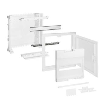 Шкаф Legrand Nedbox в нишу на 12(14) модулей с шинами (белая дверь) 01411