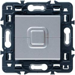 Выключатель для рольставней Mosaic (алюминий) 079226+080251