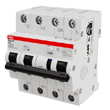 Дифференциальный автомат DS203NC C16 AC30 2CSR256040R1164