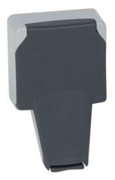 Розетка с крышкой Plexo (IP66 при вставленной вилке) 090485
